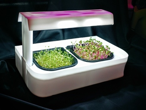 SALE !!!  MicroFarm ONE+ LED countertop Grow Unit, with fullly stocked Farmacy Line of Nutrition Based Crop Medicines | Vertical Farm - Food Factory | Scoop.it