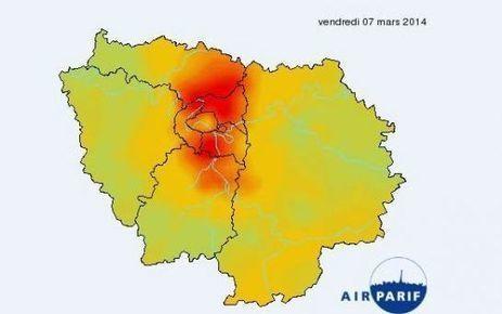 Ile-de-France : alerte maximale à la pollution | Congrès de Pneumologie | Scoop.it