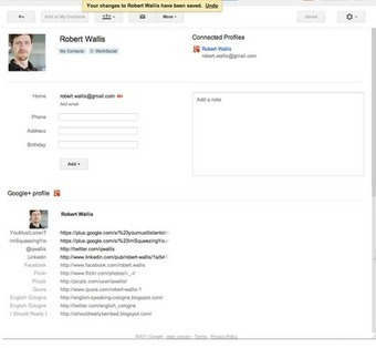 Google Contacts Get Circles | the g+ resource | GooglePlus Expertise | Scoop.it