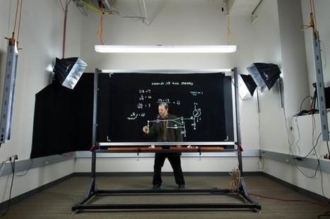 Een transparant whiteboard: ideaal voor iedereen in het onderwijs - Freshgadgets.nl | Onderwijs & ICT & Social media | Scoop.it