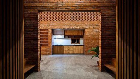 Une maison en briques atypique inspirée par les termitières | Construire sa maison avec un architecte | Scoop.it