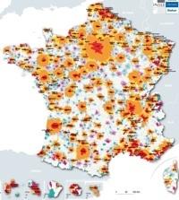 #DATA - France : mise à jour des aires urbaines | Data #TBD | Scoop.it