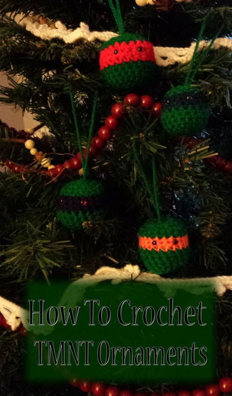 How to Make Crochet TMNT Ornaments   Sewing, Craft, Knitting, Jewelry, and Everything Else Handmade   Scoop.it
