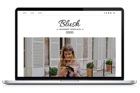 Blush - Responsive MultiPurpose Blogger Template | Blogger themes | Scoop.it