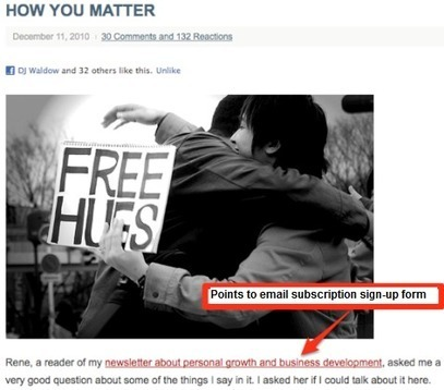 How To: Integrate Email Marketing and Social Media | Practical Digital Marketing Articles | Scoop.it
