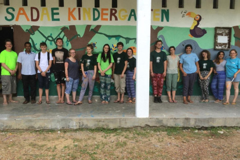 Six Form Students from Mytholmroyd volunteer in Sri Lanka | Sanjay Sharma | Scoop.it