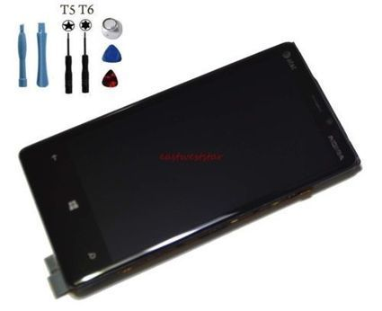 Genuine New LCD Digitizer Screen Assembly W/Frame for AT&T Nokia Lumia 920+Tools | eastwest_star ebay | Scoop.it