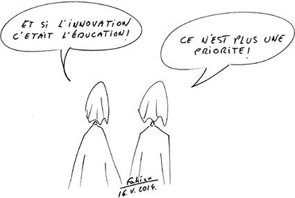 Revue de presse du vendredi 16 mai par Lionel Jeanjeau - Dessin Fabien Crégut - Les Cahiers pédagogiques   Société éducative   Scoop.it
