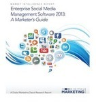 Enterprise Social Media Management Software 2013 | Tech news | Scoop.it