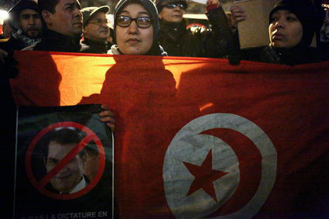 Les émeutes s'amplifient en Tunisie - Europe1.fr - International | Coveting Freedom | Scoop.it