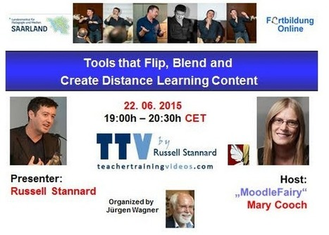 Russell Stannard GLOBINAR on Tools that Flip, Blend and Create Distance Learning Content | e-Learn and Let e-Learn | Scoop.it