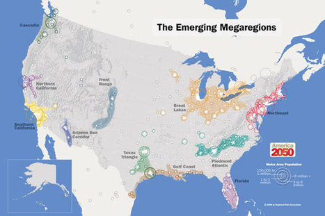 Megaregions: What are They and How Will They Affect Rural Land?   Timberland Investment   Scoop.it