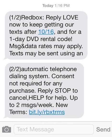 "WARNING: Text Message Marketing (SMS) Is Now ""Illegal"" | Digital Marketer | Digital & Internet Marketing News | Scoop.it"
