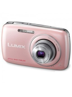 PANASONIC LUMIX DMC-S1GA PINK - Shop and Buy Online at Best prices in India. | Buy Camera Online | Camera Price | Camers | Panasonic Camera | Scoop.it