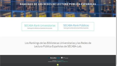 SECABA-Rank : Ranking de las Bibliotecas Públicas y Universitarias Españolas   Acceso Abierto a la ciencia y a la investigación   Scoop.it