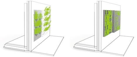 Des façades végétalisées pour des bâtiments et des villes durables - CSTC | Ambiances, Architectures, Urbanités | Scoop.it