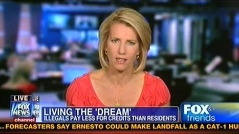 Ingraham walks off set to mock opponents of 'illegals' slur | Daily Crew | Scoop.it