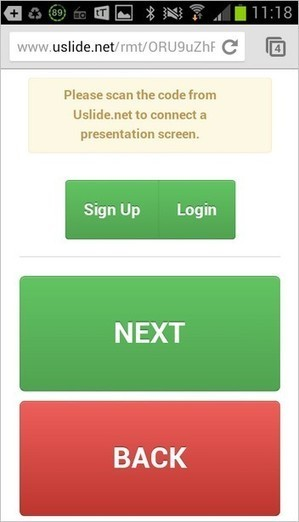 QR Code + Smartphone = Presentation Remote | Tech - Tips, Tools & Teaching | Scoop.it
