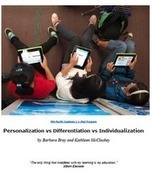 Personalize Learning: Toolkit | 21st Century - Innovative Education | Scoop.it