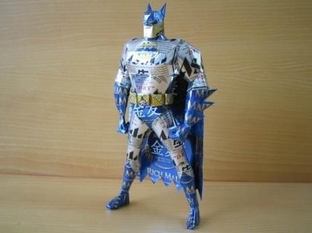 Un artiste japonais transforme les canettes en sculptures - 2Tout2Rien | recyclage créatif | Scoop.it