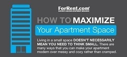 How to Maximize Your Apartment Space : Apartment Living | Location, Location, Location | Scoop.it