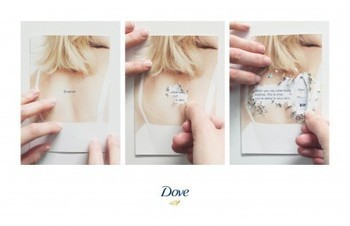 I Believe in Advertising | ONLY SELECTED ADVERTISING | Advertising Blog & Community » Dove Body Wash: Scratch Card | MdO | Scoop.it