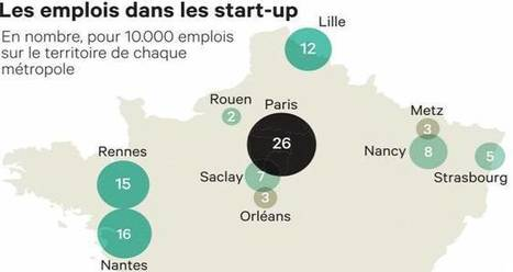 Paris, Toulouse et Lyon : les villes championnes des startup I Julie Chauveau   Entretiens Professionnels   Scoop.it