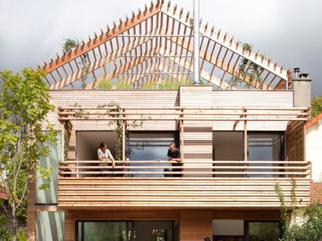 [inspiration] Une maison bois qui révolutionne un quartier pavillonnaire | Immobilier | Scoop.it