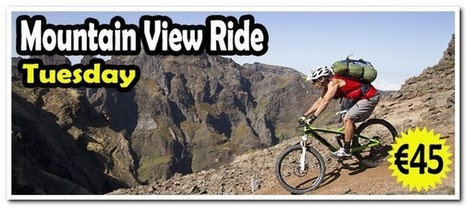 Mountain View Ride Bike Tour From Pico do Areeiro to Funchal in Madeira sland. | Adventure Activities & Tours in Madeira Island | Scoop.it