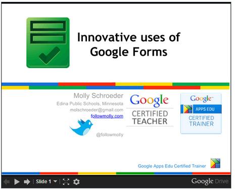 Innovative Ideas for Using Google Forms | Todoele: Herramientas y aplicaciones para ELE | Scoop.it