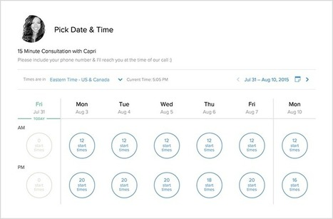 Calendly - Scheduling appointments and meetings is super easy with Calendly. | Teacher Tech | Scoop.it