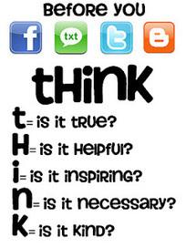 Edutech for Teachers » Blog Archive » Think Before You Click! | Aprendiendo a Distancia | Scoop.it