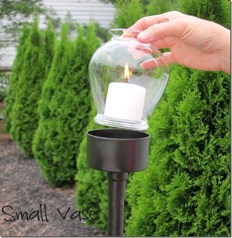 Outdoor tuna can lantern | Upcycled Garden Style | Scoop.it