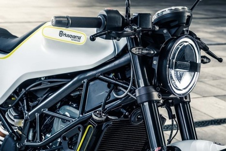 Husqvarna Vitpilen 401 Officially Unveiled at EICMA 2016 | Maxabout Motorcycles | Scoop.it