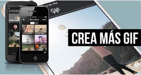Duas novas Ferramentas para criar GIFs com o Telemóvel   Tablets na educação   Scoop.it