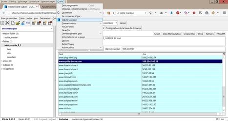 La consommation DNS de votre navigateur ! | Informatique | Scoop.it