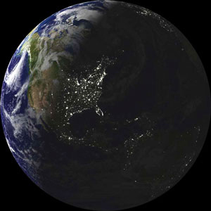 Black Marble: The Earth at Night | Haak's APHG | Scoop.it