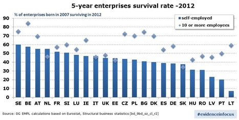 Who survives in self-employment? | Emploi et formation selon l'UE | Scoop.it