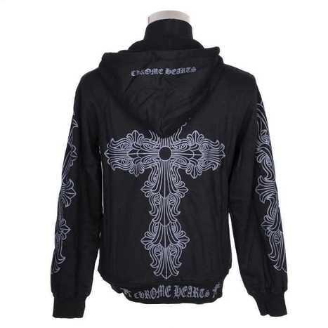 Cheap Black Chrome Hearts Grey Floral Cross Hoodie Hot Sale | nice website | Scoop.it