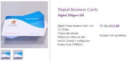 Graphic Design Business Cards – Six Vital Factors Determine The Effectiveness Of Your Card | Online Leaflet Design | Scoop.it