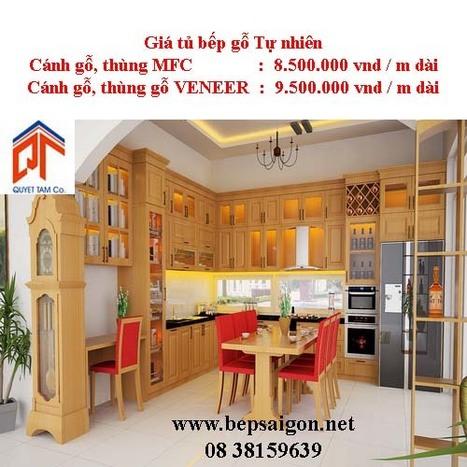 bepsaigon.net - Tủ bếp nhà Chị Trâm - Tủ bếp nhà Chị Trâm | Tủ bếp Acrylic - MFC | Scoop.it