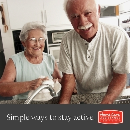 Simple Household Chores Double as Exercise for Seniors | New Hampshire Home Care Assistance | Scoop.it