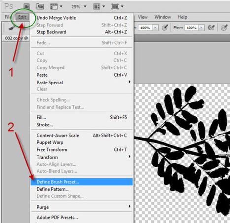 How to make a nature brush in Photoshop | Dawn by Design | Crazy 4 Photoshop | Scoop.it