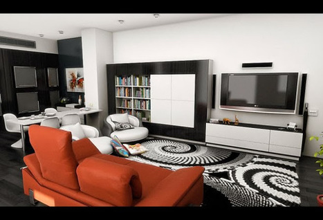 The Best Black and White Living Room | All Kinds of Furnitures | newfurnituresdesign.comm | Scoop.it