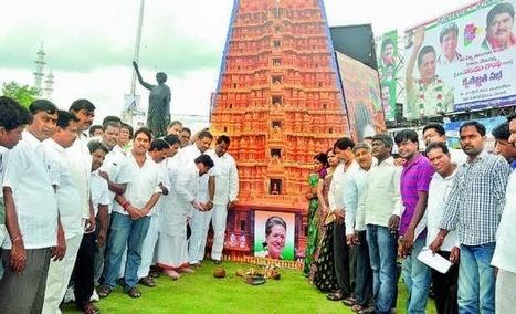 Temple built for Sonia Gandhi in Andhra Pradesh | TheAPNews | Scoop.it