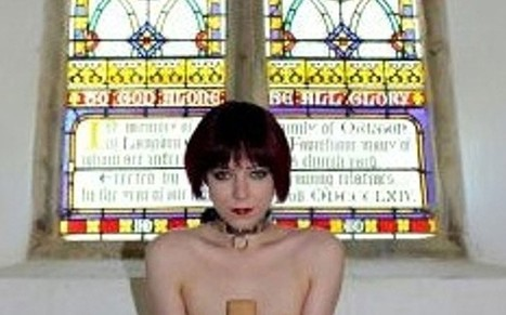 Church leaders angry after escort posts naked photos of herself on altar | Escorts | Scoop.it