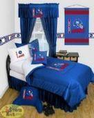 Giants Bedding, NY Giants Bed sets, NFL Logo Comforters, Giants Pillows - SportsKids Superstore | NFL Bedding Sets - Sportskids.com | Scoop.it