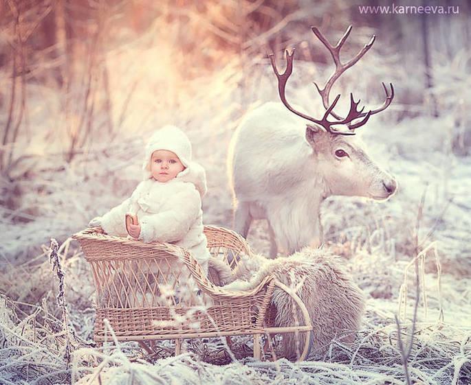 10 photos d'enfants avec des animaux sauvages qui vous couperont le souffle.