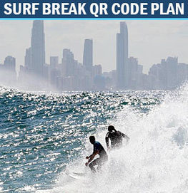 QR code plan for surf breaks - Gold Coast Bulletin News | Using QR Codes | Scoop.it