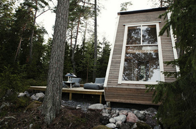 Scandinavian Squeeze: Tiny Cabin Under 100 Square Feet | Building(s) Homes & Cities | Scoop.it